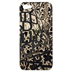 Pattern Design Texture Wallpaper Apple Iphone 5 Hardshell Case by Sapixe