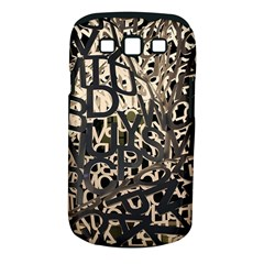 Pattern Design Texture Wallpaper Samsung Galaxy S Iii Classic Hardshell Case (pc+silicone) by Sapixe
