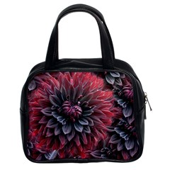 Flower Fractals Pattern Design Creative Classic Handbags (2 Sides) by Sapixe