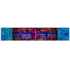 Board Interfaces Digital Global Large Flano Scarf  by Sapixe