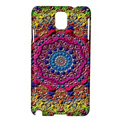 Background Fractals Surreal Design Samsung Galaxy Note 3 N9005 Hardshell Case by Sapixe