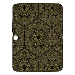 Texture Background Mandala Samsung Galaxy Tab 3 (10 1 ) P5200 Hardshell Case  by Sapixe