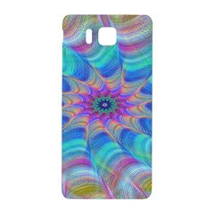 Fractal Curve Decor Twist Twirl Samsung Galaxy Alpha Hardshell Back Case by Sapixe