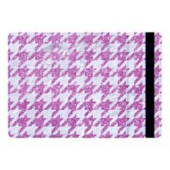 Houndstooth1 White Marble & Purple Glitter Apple Ipad Pro 10 5   Flip Case