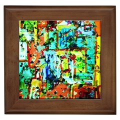 Birds   Caged And Free Framed Tiles
