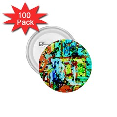 Birds   Caged And Free 1 75  Buttons (100 Pack)