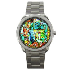 Birds   Caged And Free Sport Metal Watch