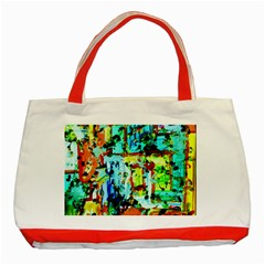 Birds   Caged And Free Classic Tote Bag (red)