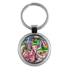 Budha Denied The Shine Of The World Key Chains (round)
