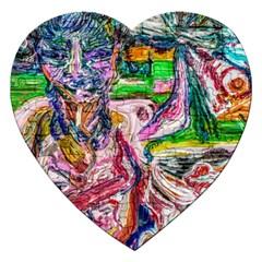 Budha Denied The Shine Of The World Jigsaw Puzzle (heart)