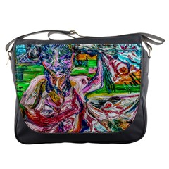 Budha Denied The Shine Of The World Messenger Bags