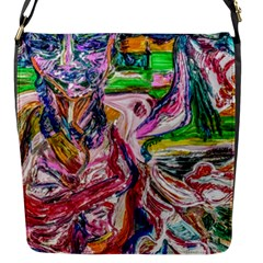 Budha Denied The Shine Of The World Flap Messenger Bag (s)