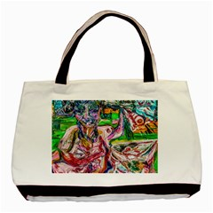 Budha Denied The Shine Of The World Basic Tote Bag