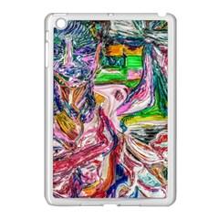 Budha Denied The Shine Of The World Apple Ipad Mini Case (white) by bestdesignintheworld
