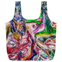 Budha Denied The Shine Of The World Full Print Recycle Bags (l)