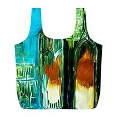 Ceramics Of Ancient Land 2 Full Print Recycle Bags (l)