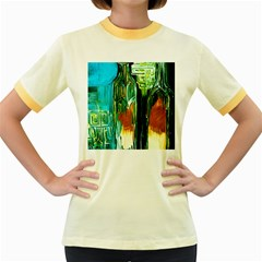 Ceramics Of Ancient Land 2 Women s Fitted Ringer T Shirts