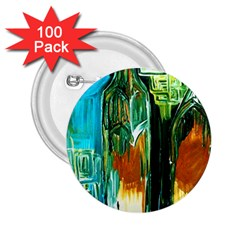 Ceramics Of Ancient Land 2 2 25  Buttons (100 Pack)