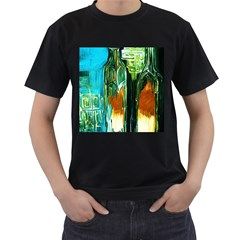 Ceramics Of Ancient Land 2 Men s T Shirt (black) (two Sided)