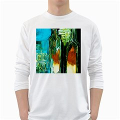 Ceramics Of Ancient Land 2 White Long Sleeve T Shirts