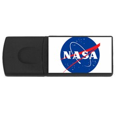 Nasa Logo Rectangular Usb Flash Drive