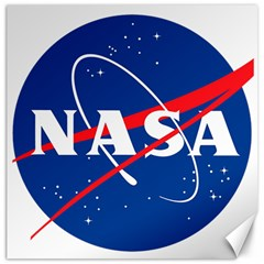 Nasa Logo Canvas 20  X 20