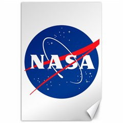 Nasa Logo Canvas 20  X 30