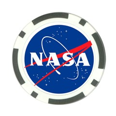 Nasa Logo Poker Chip Card Guard