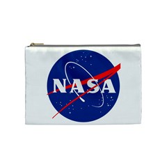 Nasa Logo Cosmetic Bag (medium)