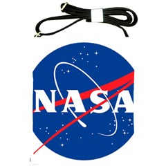 Nasa Logo Shoulder Sling Bags by Samandel
