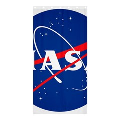 Nasa Logo Shower Curtain 36  X 72  (stall)
