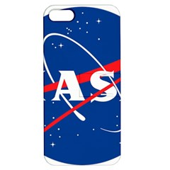 Nasa Logo Apple Iphone 5 Hardshell Case With Stand