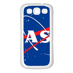 Nasa Logo Samsung Galaxy S3 Back Case (white)