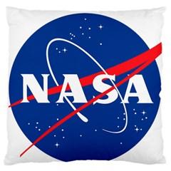Nasa Logo Standard Flano Cushion Case (one Side)