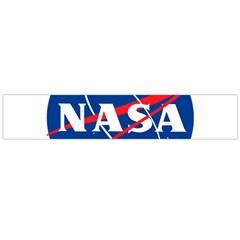 Nasa Logo Large Flano Scarf  by Samandel