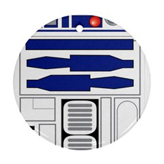 R2 Series Astromech Droid Ornament (round)