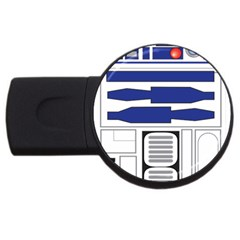 R2 Series Astromech Droid Usb Flash Drive Round (2 Gb)