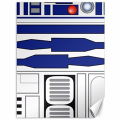 R2 Series Astromech Droid Canvas 36  X 48