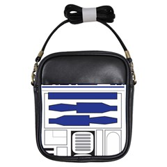 R2 Series Astromech Droid Girls Sling Bags