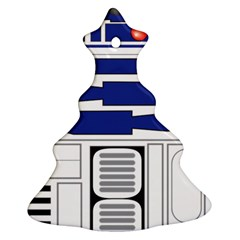 R2 Series Astromech Droid Christmas Tree Ornament (two Sides)