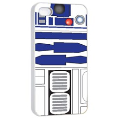 R2 Series Astromech Droid Apple Iphone 4/4s Seamless Case (white)