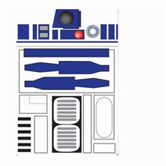 R2 Series Astromech Droid Large Garden Flag (two Sides)