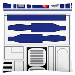 R2 Series Astromech Droid Large Cushion Case (two Sides)