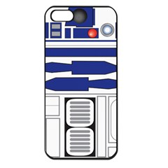 R2 Series Astromech Droid Apple Iphone 5 Seamless Case (black)