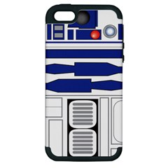 R2 Series Astromech Droid Apple Iphone 5 Hardshell Case (pc+silicone)