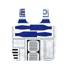 R2 Series Astromech Droid Full Print Recycle Bags (m)