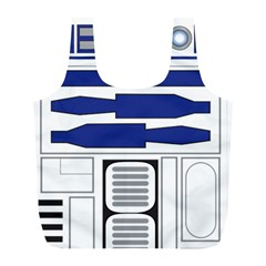 R2 Series Astromech Droid Full Print Recycle Bags (l)