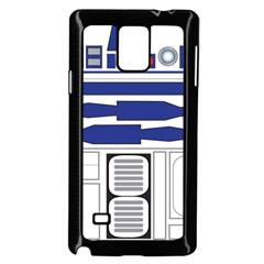 R2 Series Astromech Droid Samsung Galaxy Note 4 Case (black)