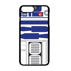 R2 Series Astromech Droid Apple Iphone 7 Plus Seamless Case (black)