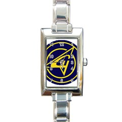 Sukhoi Rectangle Italian Charm Watch